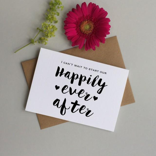 wedding day card for bride or groom card for wife or