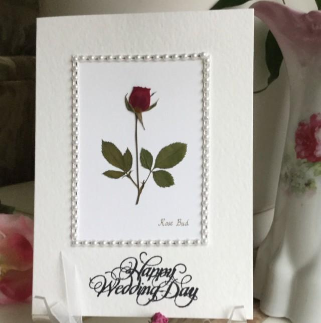 Wedding wishes marriage card happy wedding day marriage wishes wedding wishes marriage card happy wedding day marriage wishes pressed flower greeting card rose framed with pearls 2535418 weddbook m4hsunfo