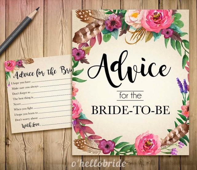 Advice For The Bride To Be