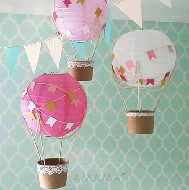 Hot air balloon diy kit diy projects for Balloon decoration kits