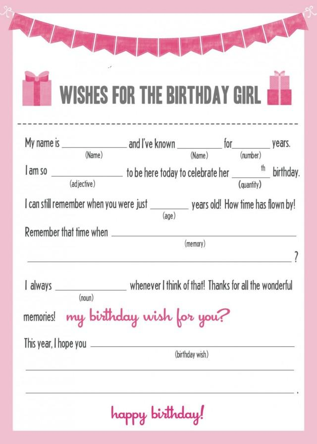 photograph about Happy Birthday Mad Libs Printable identify Invitation - Instantaneous Down load Outrageous Libs - BIRTHDAY #2539860