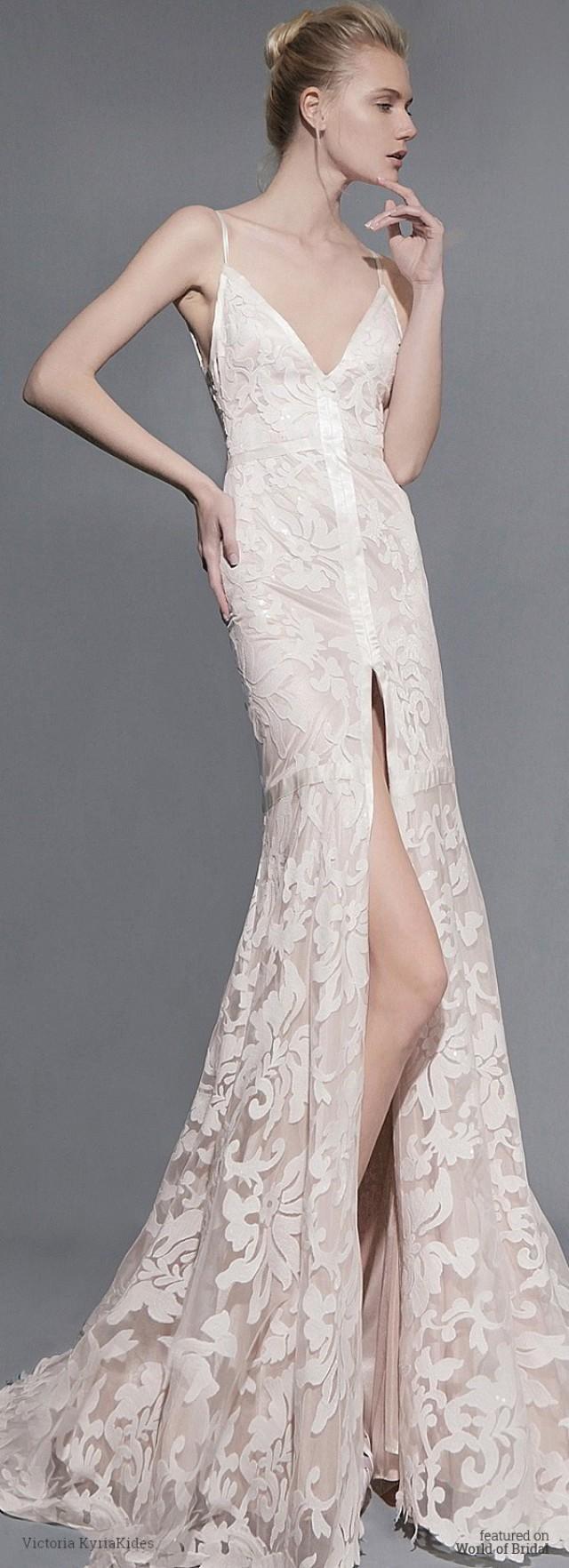 9c802c70a4c Victoria KyriaKides Spring 2016 Wedding Dresses  2540516 - Weddbook