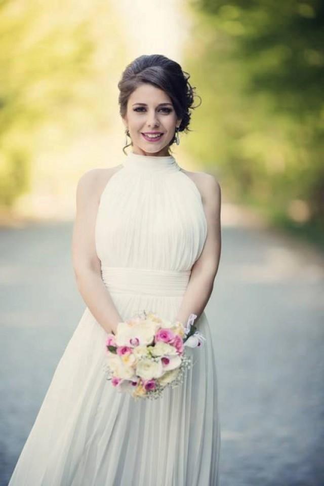 Simple Wedding Dress, Classy Bridal Gown, Casual Wedding Dress ...