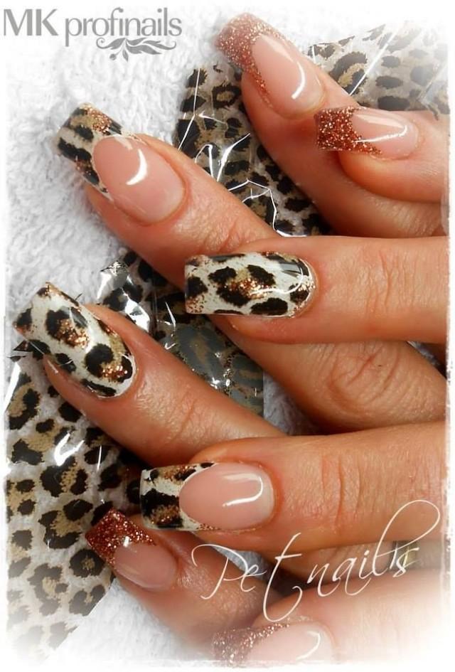 - Nail - 50 Cheetah Nail Designs #2542630 - Weddbook