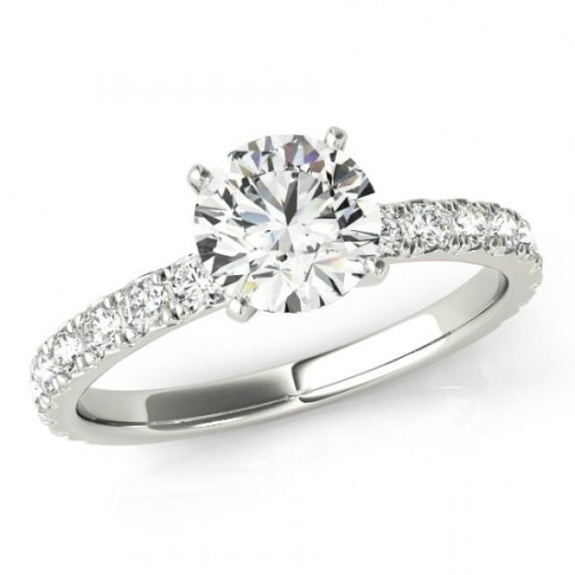 Moissanite Wedding Rings Australia, UK, USA, Canada- , 8mm ...