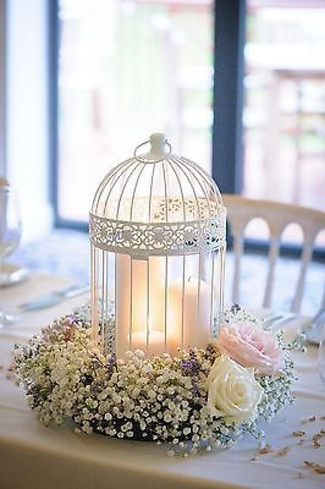 Shabby Chic Wedding Decor Birdcage Centrepieces 2545670 Weddbook