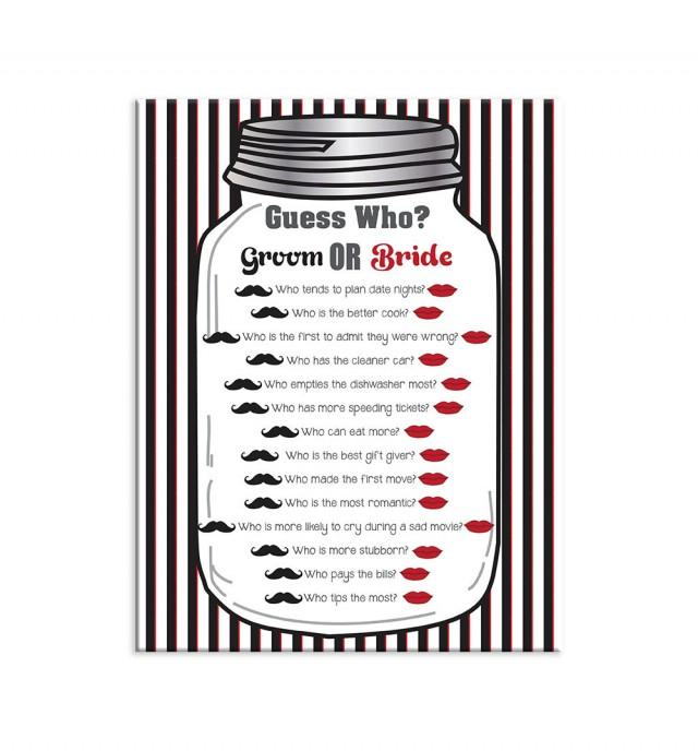 bridal shower game guess who couples shower game wedding shower game 2545771 weddbook