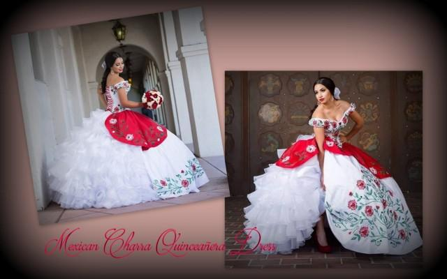 Mexican Quincea 241 Era Charra Inspired Quincea 241 Era Luxurious