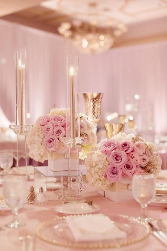 Pink and wine wedding
