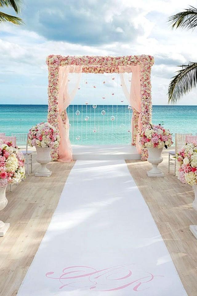 Wedding Theme Gorgeous Beach Wedding Decoration Ideas 2550606