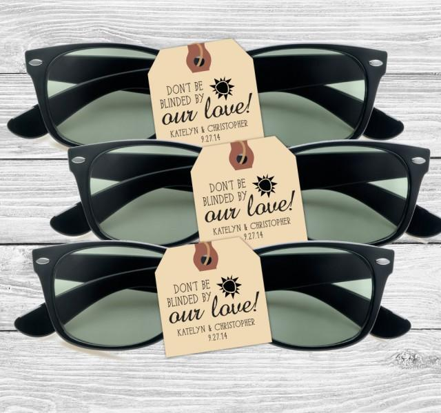 Custom Wedding Favor Stamp Dont Be Blinded By Our Love 152TS 2553596