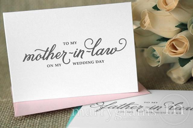 Future Mother In Law Gifts: Wedding Card To Your Future Mother-in-Law & Father In-Law