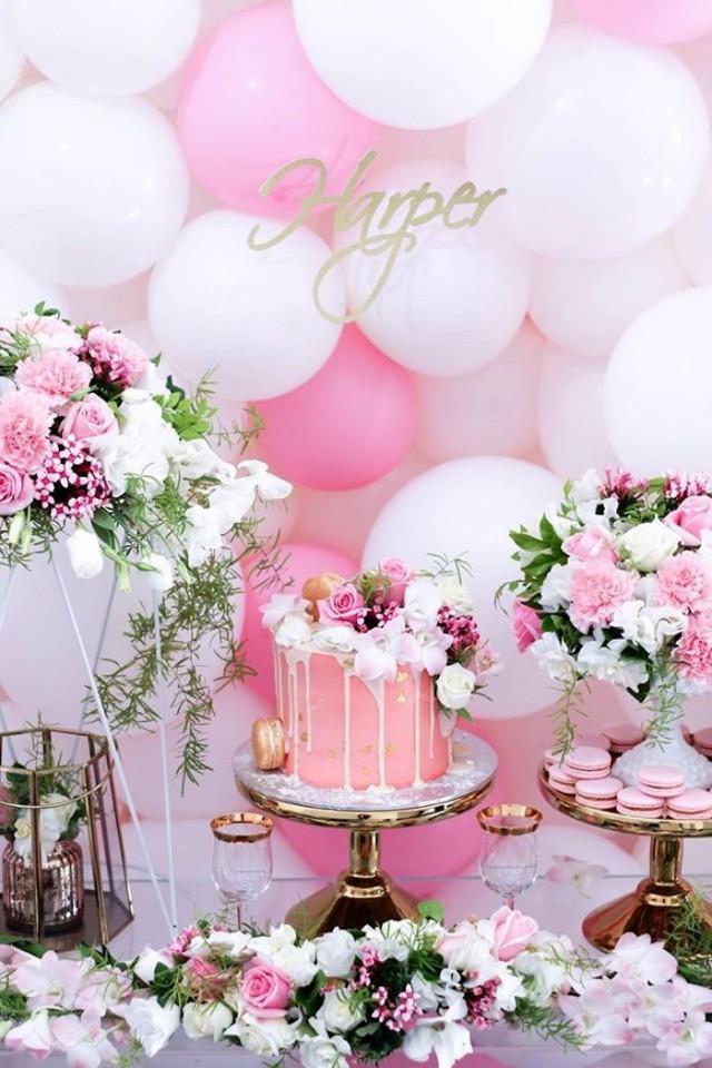 Wedding Theme Pink White Amp Gold Garden Party 2557007