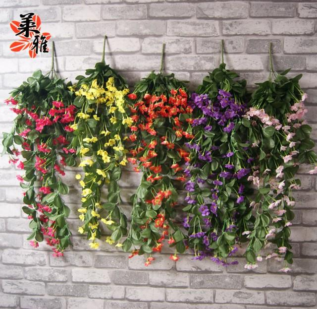 NEW Wall Lilac Vine With Silk 7 Colors 1500 Heads