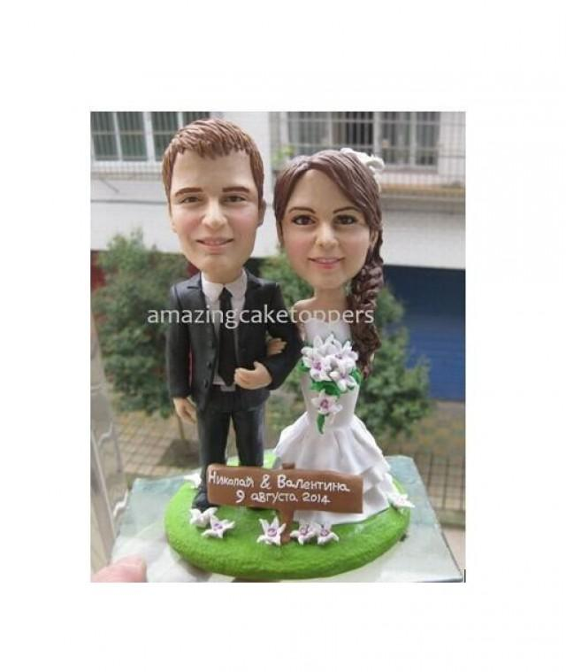 Sculpted Custom Funny Wedding Cake Topper Figurine Dog Pet Animal Personalized Toppers Unique Customized 2558565