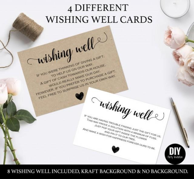 Wishing Well Cards For Wedding #2559717