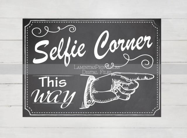 It's just an image of Trust Selfie Station Sign Free Printable