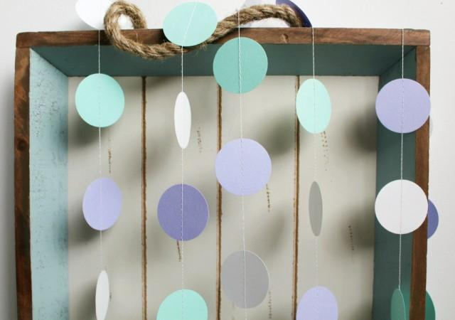 Mint Green Purple Lavender And White