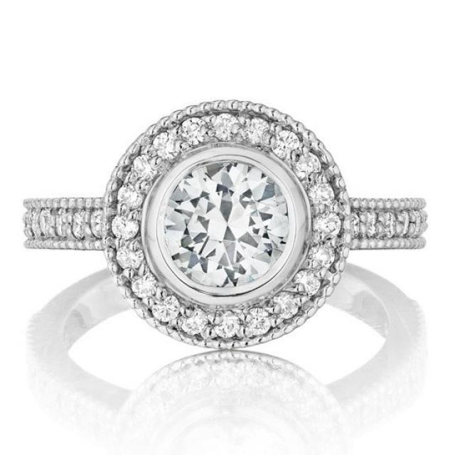 Halo Diamond Engagement Rings Canada