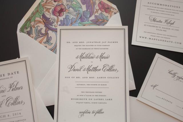 Cultural Wedding Invitations: Classic Wedding Invitation, Traditional Wedding Invitation