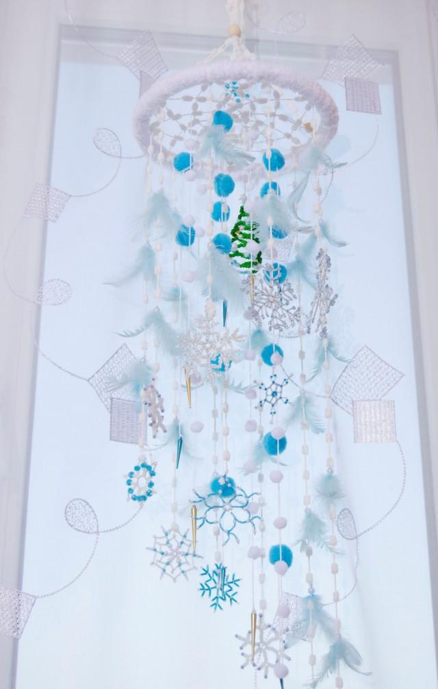 Fairy Christmas Mobile Nursery Bаbу Decor Beaded