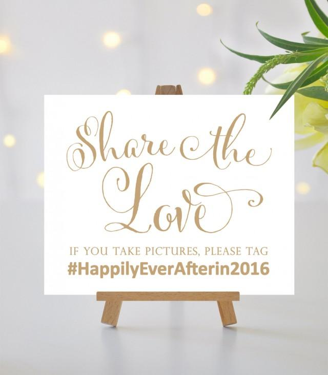 Share The Love Sign 8 X 10 Sign Or 5 X 7 Sign