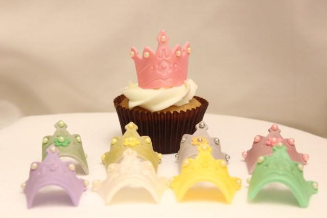 Crown And Tiara Cake Topper