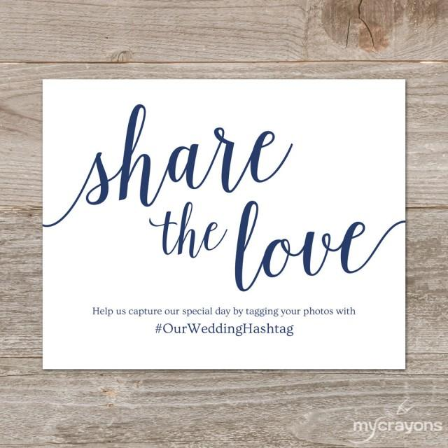 Book Cover Photography Hashtags : Wedding hashtag sign printable share the love