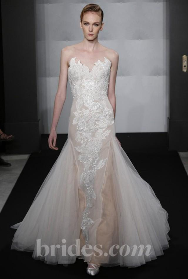 Mark zunino for kleinfeld 2013 style mzbf65 strapless for Wedding dress for sale cheap