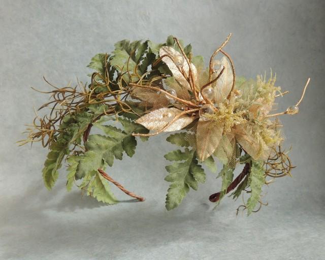 20/% Off LAVENDER HEADBAND ACCESSORY Natural Wedding Hair Wreath,Rustic Bohemian Hair Accessory