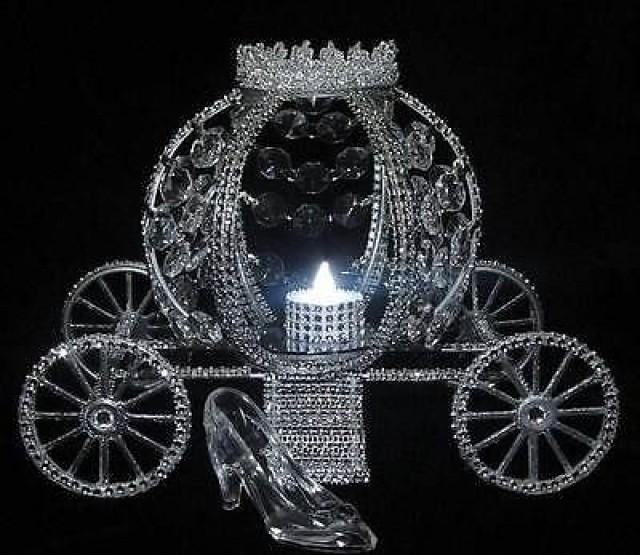 Cinderella Wedding Lite Carriage Coach Centerpiece 2577903 Weddbook