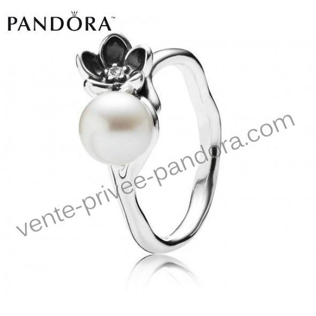 Prix Discount - Bague Pandora Pas Cher Fleur Perle P0962 ...