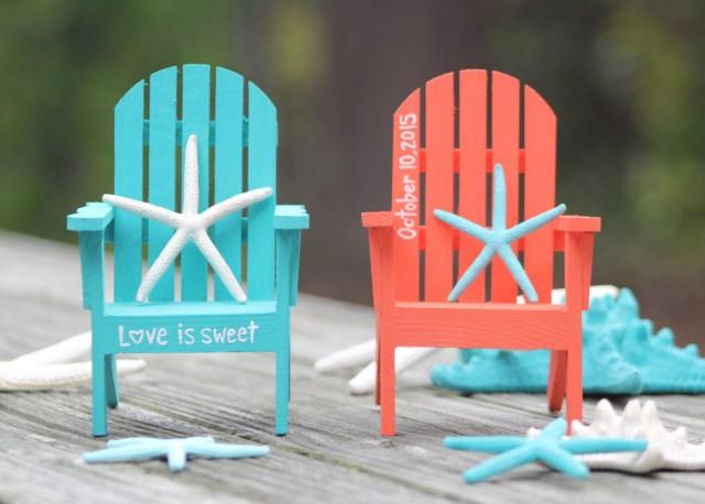 Any Color Custom Personalized Hand Painted Adirondack