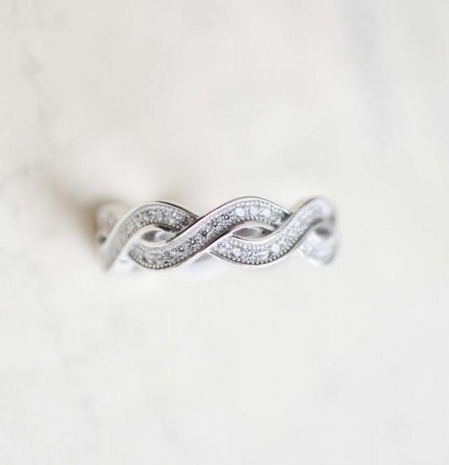 Amazoncom TZAROJewelry 925 Sterling Silver Dainty Knot