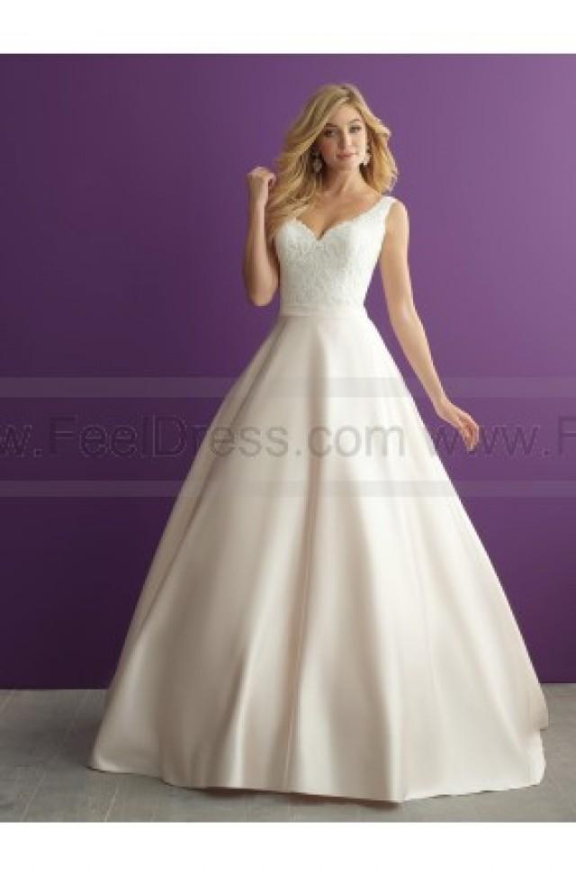Fantástico Allure Bridesmaid Dresses Online Colección - Vestido de ...