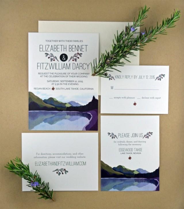Do Your Own Wedding Invitations: Printable DIY Wedding Invitation