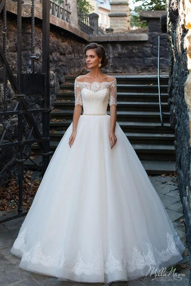 Aliexpress Com Buy Sexy Off The Shoulder Ball Gown Wedding