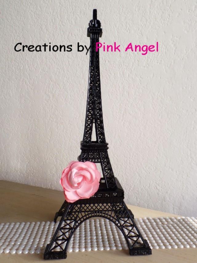 15 Inch Black Eiffel Tower Eiffel Tower Centerpiece Paris Wedding