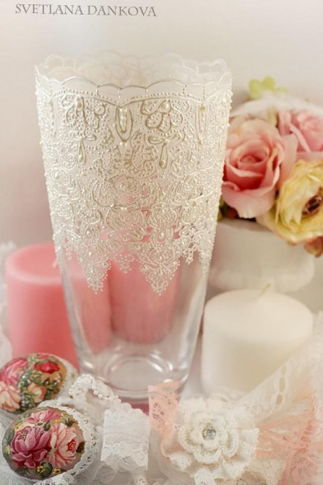 Wedding Vase Candle Holder Baby Shower Wedding Decoration