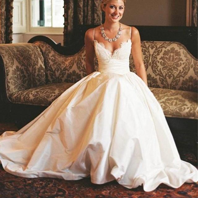 Boho Sweetheart Spaghetti Strap Beach Wedding Dress Autumn Collection 2584507 Weddbook,Beach Wedding Dress Ideas Plus Size