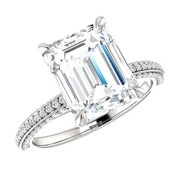 Forever brilliant moissanite vs diamond