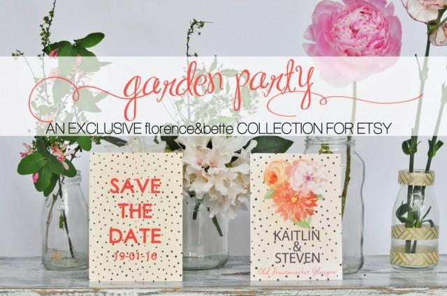 garden party collection 2015 kaitlin wedding stationery design in digital or printed rustic vintage lace floral shabby chic style 2584970 - Rustic Garden 2015