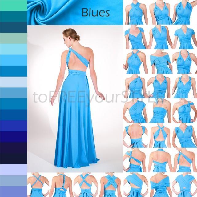 e0d7a998c7 Long Infinity Dress In BLUES