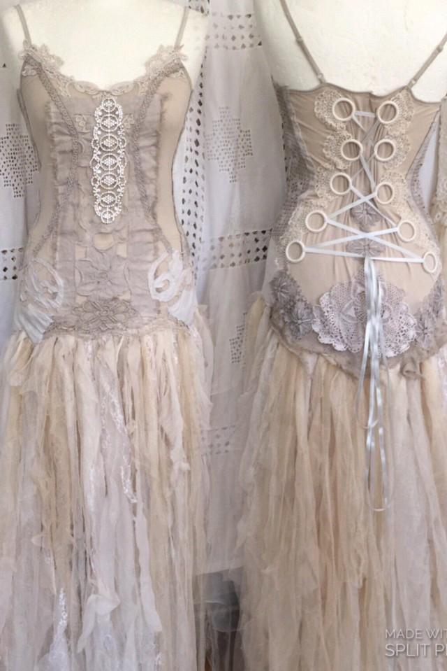 Victorian Inspired Wedding Dressalternative Statement Wedding Dress