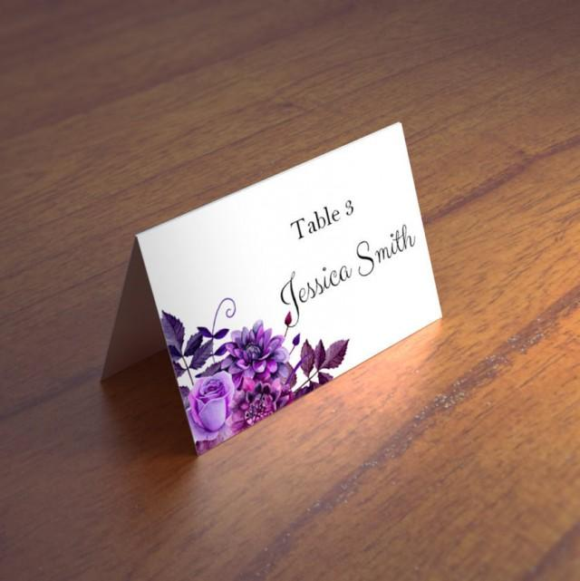 Place Card Table Arrangements |Flowers For Wedding Place Card