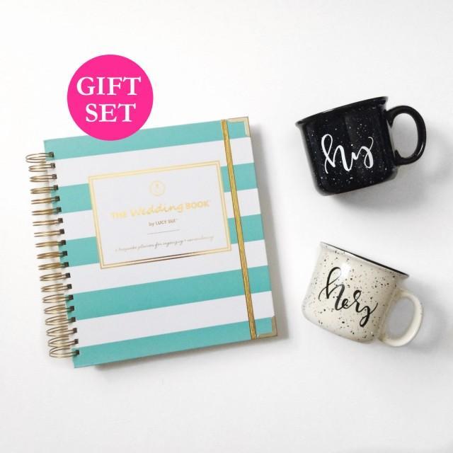 wedding planner book engagement gift set keepsake organizer wedding