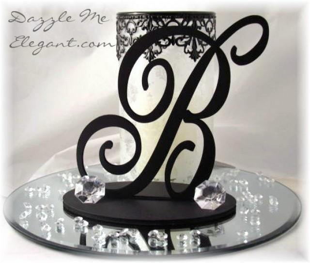 Wedding Centerpieces Elegant Script Table Decorations Reception