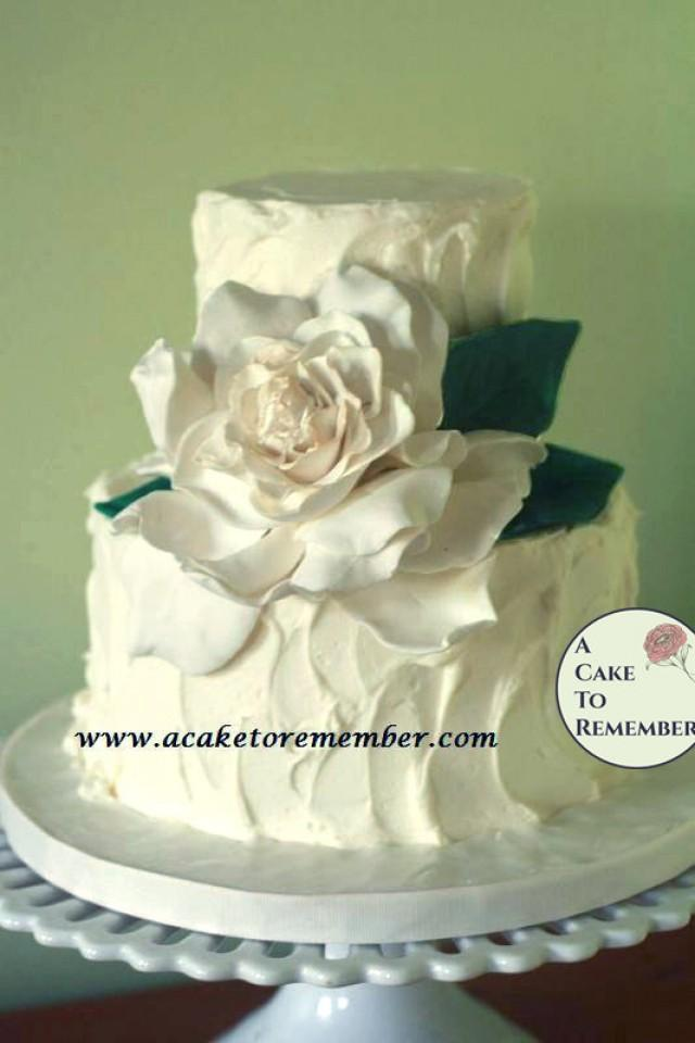 Gumpaste Gardenia For Cake Decorating Edible Flowers Cakes Sugar Flower Wedding Topper 2596384