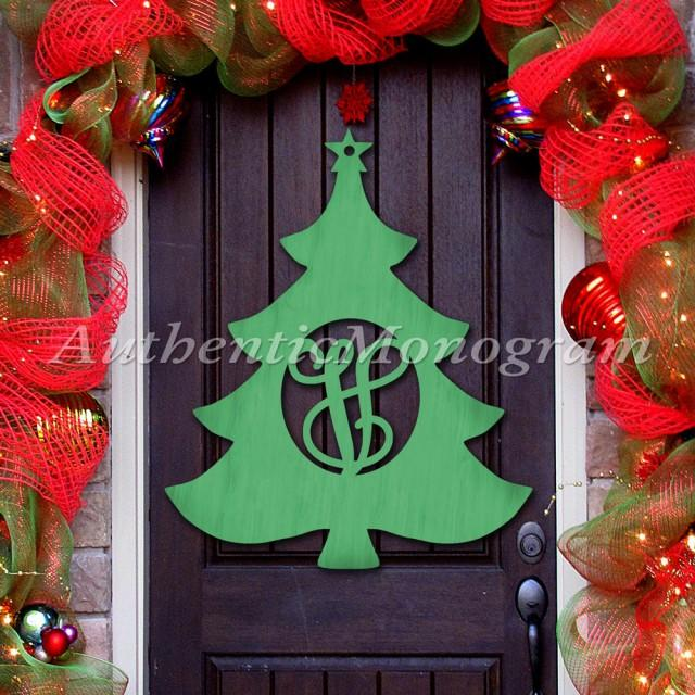 wooden christmas tree door hanger cristmas decorations wooden monogram unpainted or painted home decor holiday decor x mas 2596838 weddbook