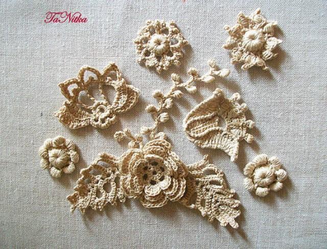 Crochet Shoe Laces Pattern